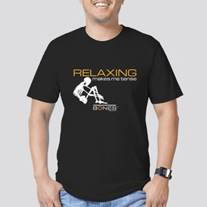 Bones Relaxing Men's Fitted T-Shirt (dark)